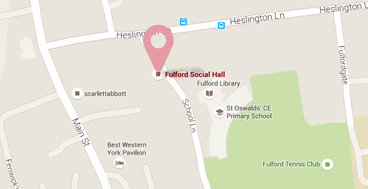 Fulford, Selby map